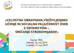 Plakat mednarodne konference 2019